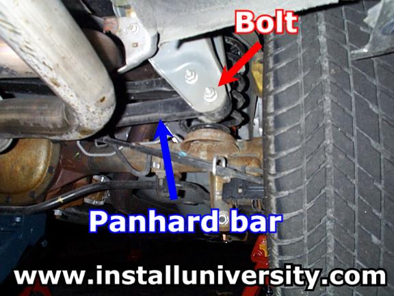 Panhard Bar Installation
