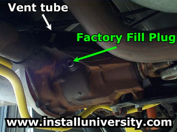 TA Performance Girdle/Fluid Installation