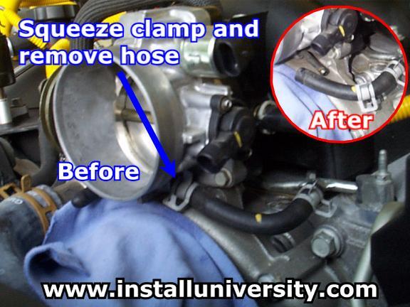 Throttle body coolant hose size? - CamaroZ28 Com Message Board