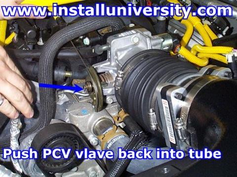 99-00 PCV Valve Swap - InstallUniversity com
