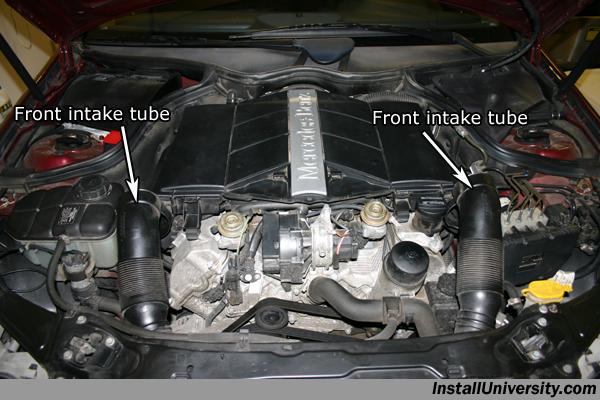 Air Filter Mercedes Benz C Class W203 Installuniversity Com