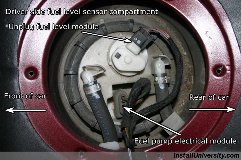 Wiring Diagram Mercedes W203 : Installuniversity mercedes benz c class w fuel