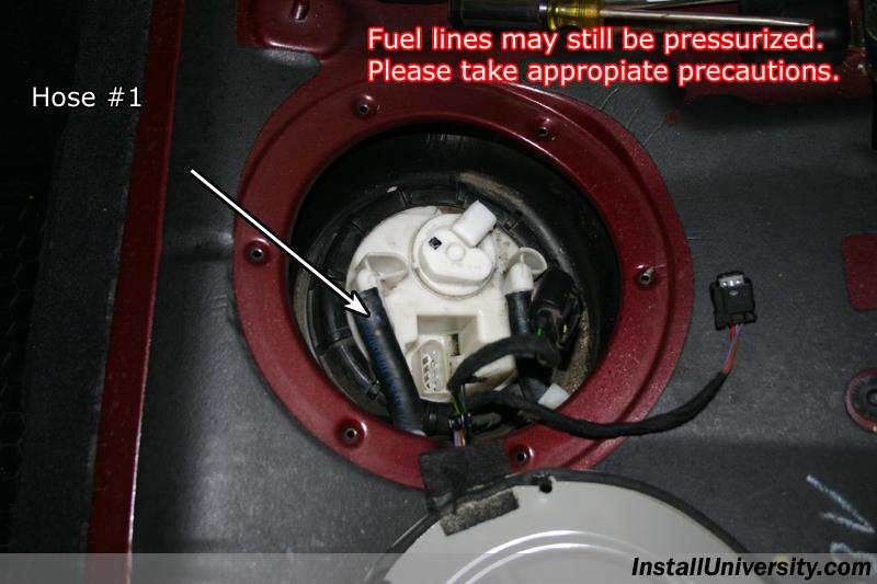 Fuel Pump Mercedes Benz C Class W203 - InstallUniversity com