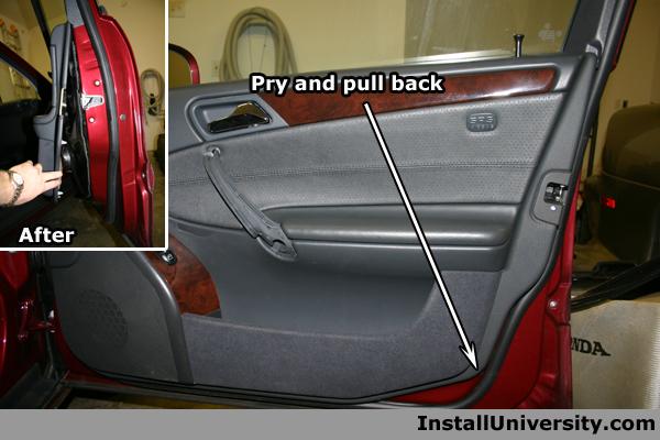Grab Handle Mercedes Benz C Class W203 - InstallUniversity.com