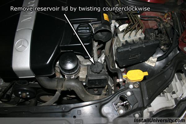 S550 mercedes power steering fluid filter s550 free for Mercedes benz power steering fluid